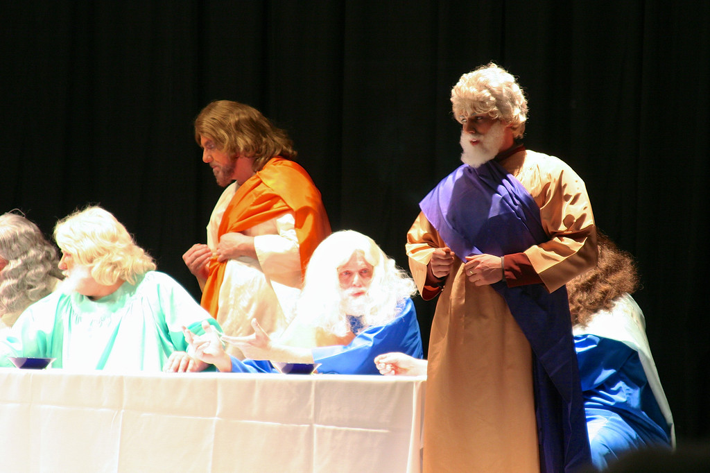 A.A.S.R. THE LIVING LAST SUPPER (March 24, 2013)